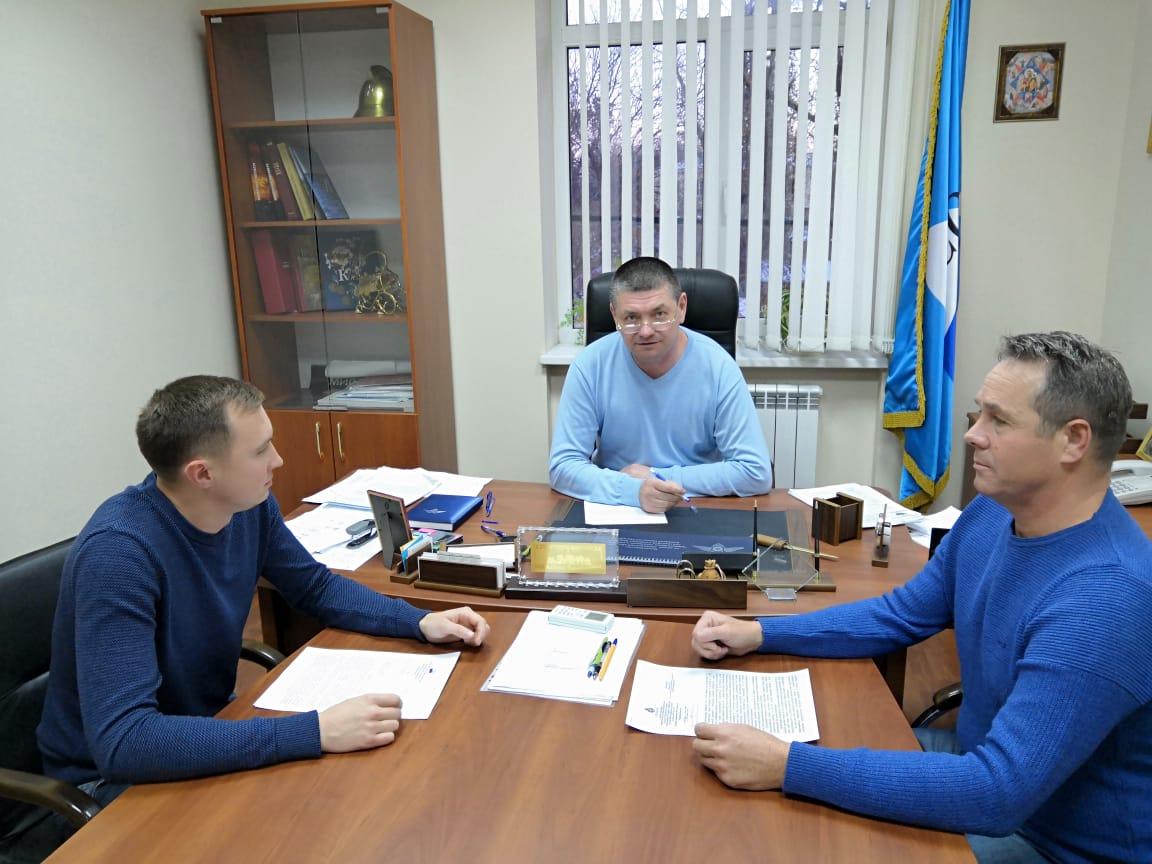 рабочая встреча в Ростове-на-дОну